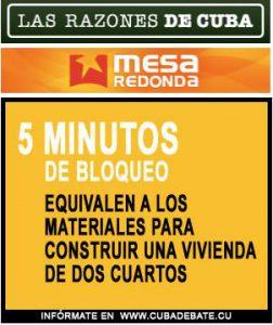 5 minuters blockad motsvarar materialkostnaden för att bygga en tvårumslägenhet