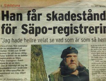 Peter från Eskilstuna funderar över vad det är som Säpo ruvar på