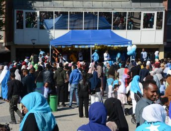 Somalisk kulturfest vid Fröslunda centrum
