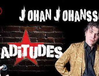 Johan Johansson spelar i Eskilstuna 8 september