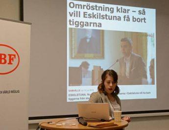Föreläsning om antirasistisk strategi på ABF i Eskilstuna