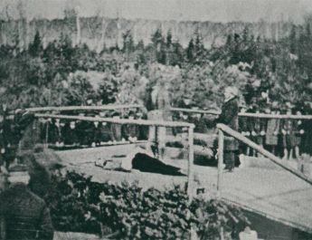 De sista offentliga avrättningarna i Sverige