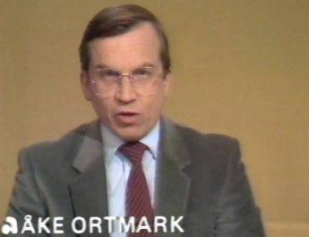 Den legendariske journalisten Åke Ortmark har avlidit
