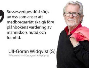 """Krönikör (S) i Södermanlands Nyheter: """"Sossesverige har gått i graven"""""""