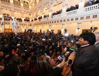 Bolivia – VänsterpresidentenEvo Morales vann sin fjärde valseger
