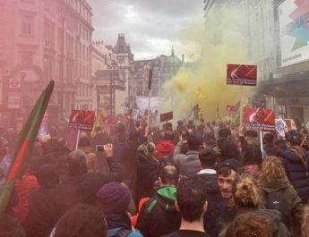7 december, en världsomspännande marsch och aktion: Mot ockupation och statsterrorism och för internationell solidaritet med det kurdiska folket!