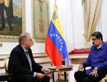 Venezuelas president Nicolás Maduro föreslår samtal med USA