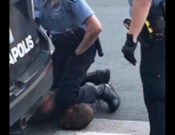 Rasistiskt mord i Minneapolis. Bödeln var polis i tjänst