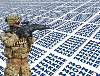 Corona visar tydligt på nödvändigheten av kamp mot den vanvettiga militarismen
