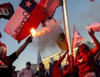 Ny överväldigande folklig seger i Latinamerika! Rungande JA till ny grundlag i Chile!