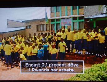 Berättelser från Afrika – Dokumentär i SVT2 om dövas situation i Rwanda