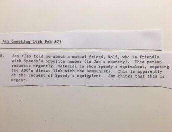 """Mordet på Olof Palme – """"Rolf"""" var länken mellan apartheidregimens svenska spion och SÄPO-chefen"""