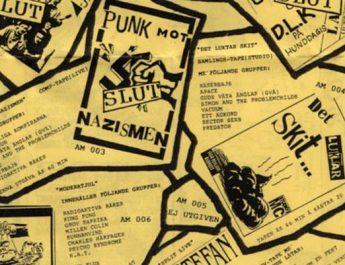 Svensk punk på 90-talet. Del 2: Samlingskassetter