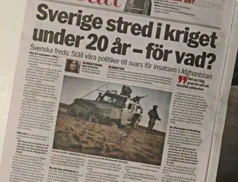 Internationella Fredsdagen gick (nästan) spårlöst förbi i svensk media